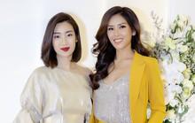Hoa hậu Đỗ Mỹ Linh đọ sắc cùng Á hậu Nguyễn Thị Loan ngày cuối năm
