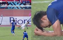 Clip: Vua phá lưới đá 11 m lên trời, Thái Lan mất vé chung kết cho Malaysia