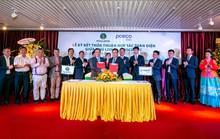 Ký kết thỏa thuận hợp tác toàn diện giữa Công ty Phú Long và Posco