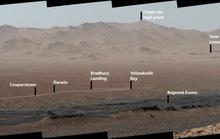 Cận cảnh núi non hùng vĩ trên Sao Hỏa