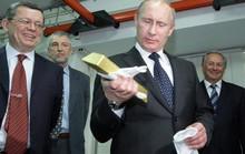 Choáng ngợp kho vàng 1.800 tấn của Nga