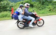 Kinh nghiệm cưỡi xe máy về quê ăn Tết