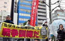 Nhật Bản chuẩn bị cho các trường học đón tên lửa Triều Tiên