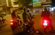 Hàng trăm dân chơi Sài Gòn đua xe sáng 30 Tết