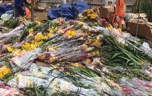 Hoa Tết dội chợ, chất như núi ở chợ hoa sỉ Đầm Sen, TP HCM