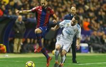 Rượt đuổi tỉ số điên rồ, Real Madrid vuột chiến thắng trước Levante