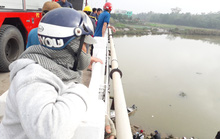 Thanh niên mất tích, để lại điện thoại và xe máy trên cầu