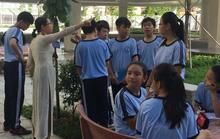 Trường THCS Nguyễn Văn Tố, quận 10 xét học sinh trái tuyến