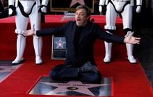 Bậc thầy Star Wars sung sướng nhận sao trên Đại lộ danh vọng
