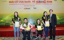Nghị lực của những kỳ thủ đặc biệt tại giải HDBank 2018