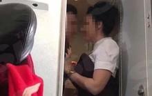 Bắt quả tang đôi nam nữ vừa quen nhau đã hành sự trên máy bay