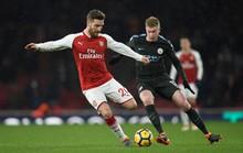 Man City tiếp tục thắng đậm Arsenal