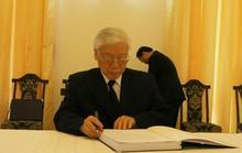 Lãnh đạo Đảng, Nhà nước ghi gì trong sổ tang cố Thủ tướng Phan Văn Khải?