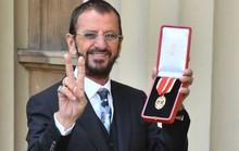 Tay trống huyền thoại của Beatles sung sướng nhận tước Hiệp sĩ