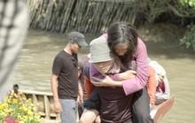 Ngô Thanh Vân té nứt xương đầu gối trên trường quay