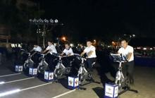 """Đạp xe tập thể dục để hưởng ứng """"Giờ Trái đất 2018"""" tại Cần Thơ"""