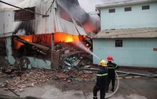 Cháy lớn ở Vĩnh Phúc, phải huy động PCCC Hà Nội chi viện