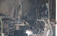 TP HCM: Bé 2 tuổi tử vong trong đám cháy tiệm photocopy
