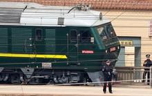 Đoàn tàu nghi chở ông Kim Jong-un rời Bắc Kinh