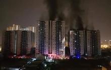 Lực lượng PCCC đến chung cư Carina chỉ sau 7 phút phát hỏa