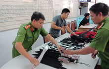 Bắt kho hàng nóng tại trung tâm TP HCM