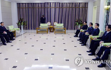 Ông Kim Jong-un ăn tối với phái đoàn Hàn Quốc