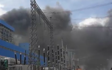 Đang tìm kiếm công nhân trong đám cháy Nhà máy Nhiệt điện Duyên Hải