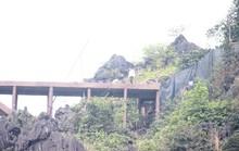 Công trình khủng xuyên danh thắng Tràng An tháo dỡ 40 m lan can sau nửa tháng