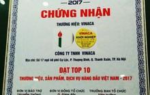 Vinaca chế thuốc ung thư từ than từng lọt Top 10 thương hiệu hàng đầu Việt Nam