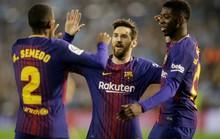 Thảm họa hàng thủ, Barcelona suýt đánh rơi kỷ lục ở Balaidos