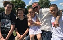 Gia đình hạnh phúc của Beckham và 4 người con sau 20 năm