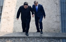 Video: Những khoảnh khắc khác thường ở biên giới liên Triều