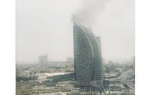 Tháp Trump ở Azerbaijan bốc cháy