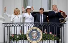 Tiết lộ bất ngờ của đệ nhất phu nhân Pháp về bà Trump