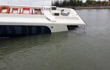 Tàu cao tốc chở 42 khách bị sự cố trên biển Cần Giờ