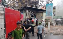 Cháy lớn cửa hiệu 3 tầng bán chăn ga, cụ bà hơn 90 tuổi tử vong