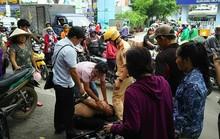 Đám đông vây bắt 2 kẻ đá xế ở quận 10 - TP HCM