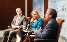 Đại sứ Phạm Quang Vinh đối thoại với tân Đại sứ Mỹ