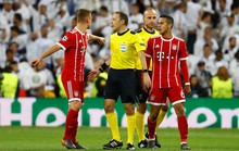 Người hùng Cuneyt Cakir trao vé chung kết cho Real Madrid