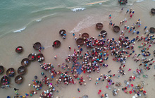 Vùng biển Tam Thanh không chỉ có làng bích họa