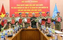 Bảy sĩ quan làm nhiệm vụ gìn giữ hòa bình Liên Hiệp Quốc