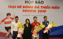 Lê Huỳnh Đức và Phan Thanh Bình quản lý trại sinh nhí