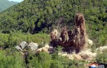 Triều Tiên công bố hình ảnh phá hủy bãi thử hạt nhân