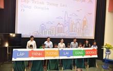 Google chắp cánh sáng tạo với dự án Lập trình tương lai cho trẻ