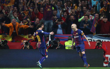 Siêu kinh điển tôn vinh Iniesta