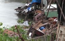 Sà lan tông nhà dân rồi bỏ chạy, nhiều trẻ em rớt xuống sông trong đêm