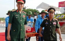 An táng 18 hài cốt liệt sĩ hy sinh tại Lào