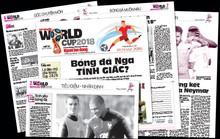 Hôm nay, phát hành Tin nhanh World Cup 2018