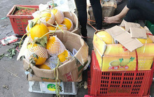 Dưa lưới, dưa vàng gắn mác hàng Việt Nam đổ bộ các chợ đầu mối