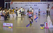 Chiêm ngưỡng những màn biểu diễn từ giải Patin Freestyle Đông Nam Á